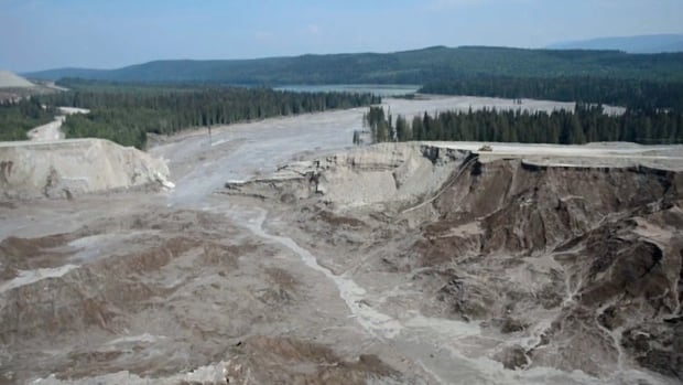 Mount Polley Mine tailings pond dam failure