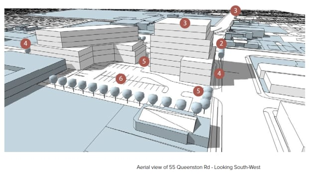These plans from June 2014 show the potential future of the City Motor Hotel site.