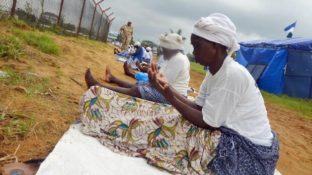 Ebola prayers