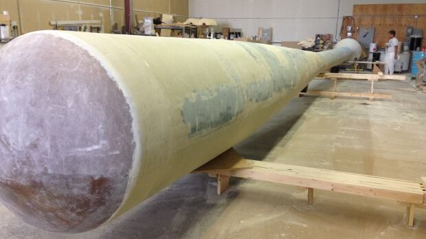 Progressive Yard Works is building a 50-foot, 2,500-pound baseball bat for Sask. Baseball Hall of Fame.