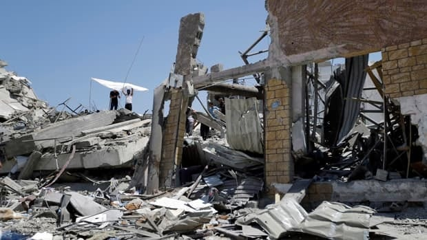 Assessing destruction in Gaza