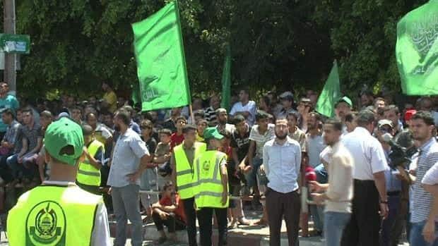 CBC's Derek Stoffel attends Hamas rally in Gaza
