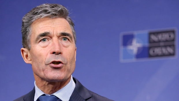 "NATO Secretary General Anders Fogh Rasmussen said Russia should not use peacekeeping ""as an excuse for war-making."""