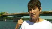 Lana Burpee Float Plane Ottawa River Macdonald Cartier Bridge Video