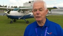 Ottawa Flying Club General Manager Bryce Hanna