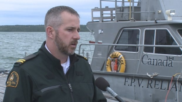 Gerald Fillatre, the Detachment Manager in Yellowknife for the Department of Fisheries and Oceans Canada says officers believe this incident did involve a commercial fishery operating in an area where it's not allowed.