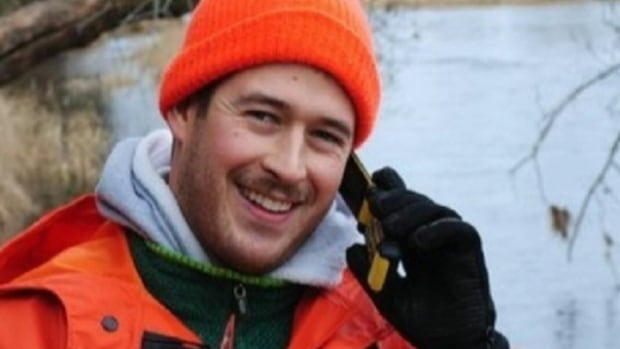 Travis White, 31, was on Digges Island studying the thick-billed murre bird for his PhD.