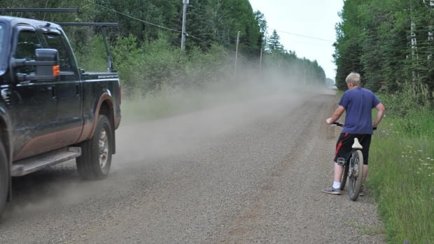 A group of residents in rural Thunder Bay is upset with how Government Road has been maintained this year, and are petitioning the city to make improvements.