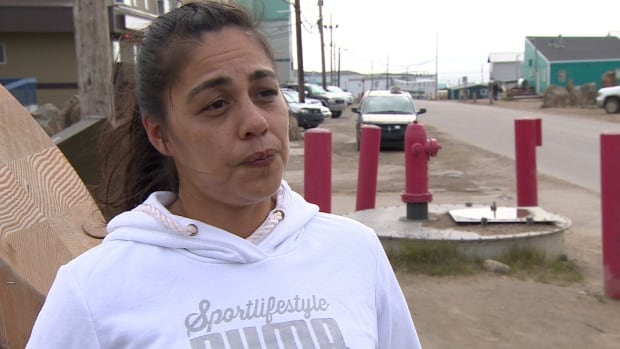 Wendy Lee of Iqaluit says she's tired of cancelling outings with her grandson because of the smoke.