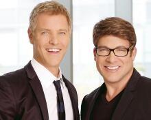 Stephen and Chris