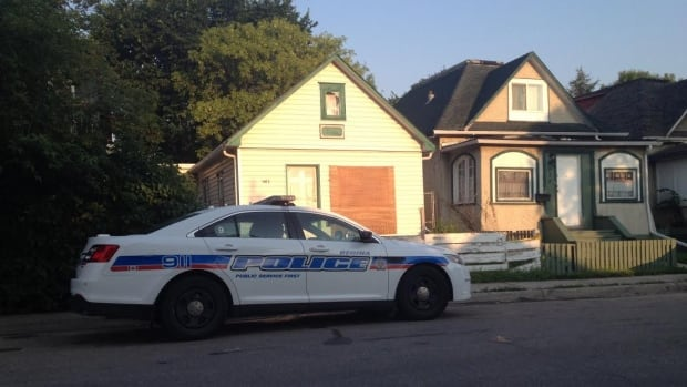 As part of a criminal investigation, police held this house at the 1600 block of Toronto early Friday morning.
