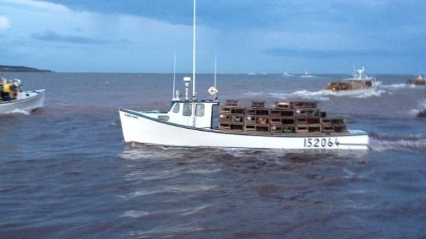 Some lobster boats left reluctantly, wanting to wait until Monday to set traps to avoid high winds