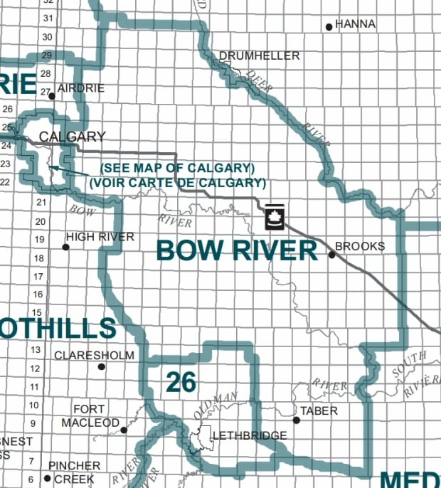 bow river riding map