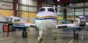 Alberta government plane
