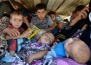 Iraq children Nineveh