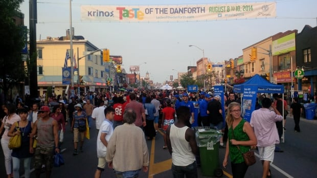 As many as 1.5 million people are expected over the course of the three-day festival in Toronto's Greektown.
