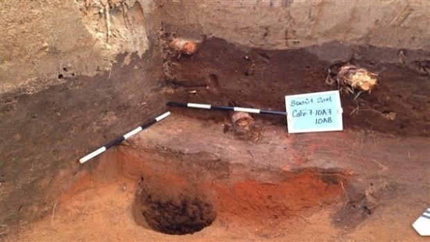 Odanak archaeological dig