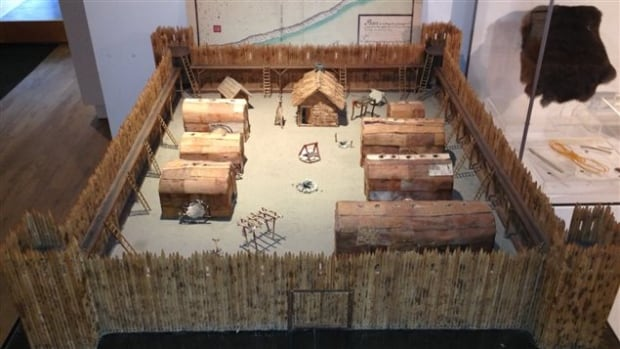 Odanak reserve Abenaki fortress