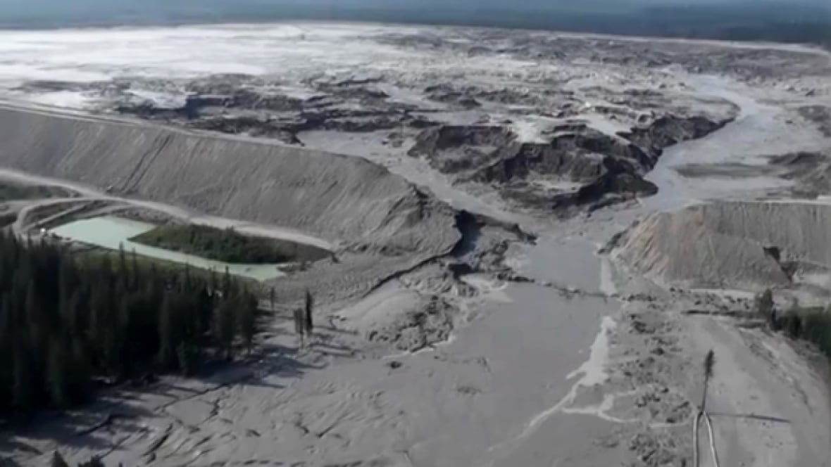 Mount Polley spill bla...
