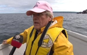 Boyd Holloway visits site of shipwreck