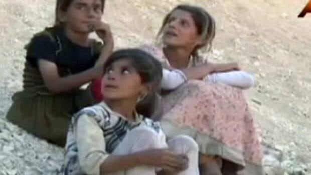 Yazidis trapped in Iraq RAW