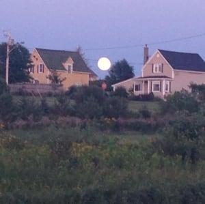 NB - Super moon in Caraquet