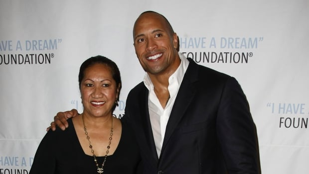 Actor Dwayne (The Rock) Johnson says his mother, with whom he's pictured at a New York City gala in 2009, survived a head-on collision by a suspected drunk driver.