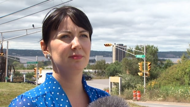 Charlene Mills says it's up to cab drivers to drive people across the bridge to Dartmouth. She was harassed early Friday morning after a Casino cab driver turned her down.