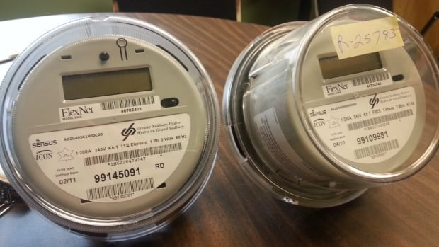 An example of some of the Sensus smart meters that were installed around Sudbury between 2008 and 2012.