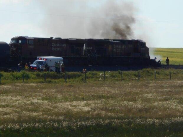 CP rail train caron