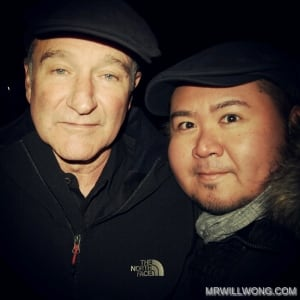 Robin Williams and Will Wong