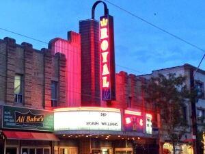 RIP Robin Williams at the Royal Cinema