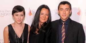 Zelda Williams, Marsha Williams and Cody Alan Williams