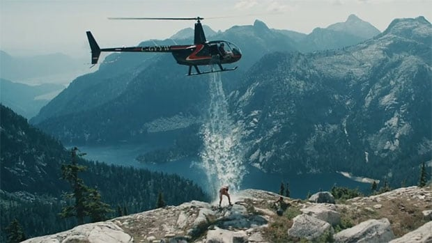 NHL free agent Paul Bissonnette got creative for his spin on the Ice Bucket Challenge.