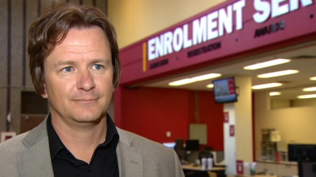 Scott Robinson, the U of C's associate registrar, says a $400 admission deposit fee could cut down the number of students who accept admission but then bail at the last minute.