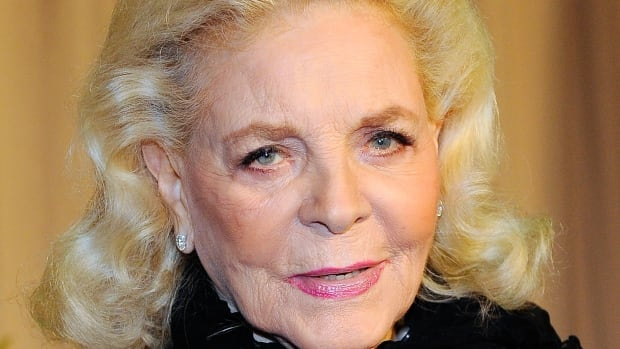 Lauren Bacall, seen here arriving for the 2010 Academy Awards, is being remembered for her sharp wit and sultry lines by fellow Hollywood stars.