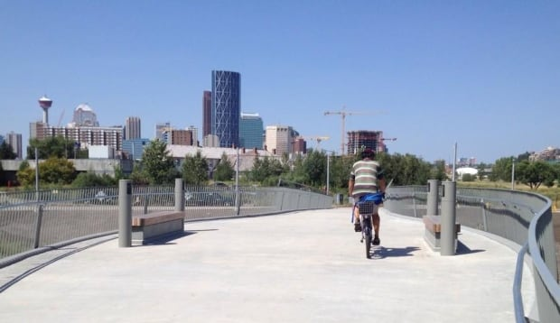 Inglewood pedestrian bridge