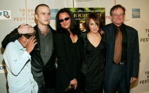 Robin Williams family