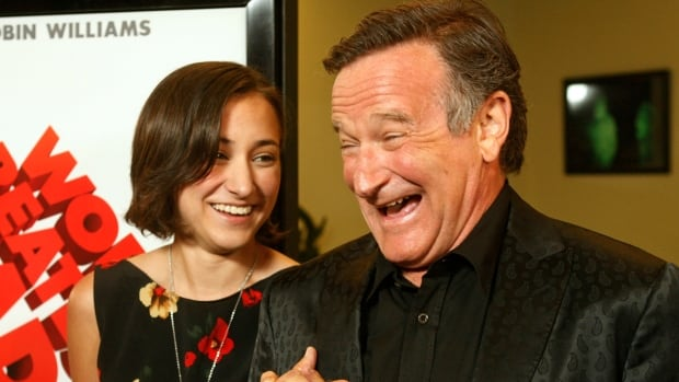 The death of the beloved comedian and actor Robin Williams has led to a surge in charitable donations and more discussions around mental health. Williams is pictured here with his daughter, Zelda.