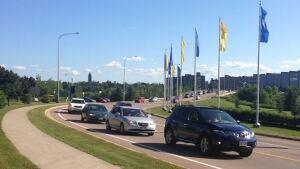 FIFA Under-20 Women's World Cup traffic around the Moncton stadium
