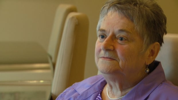 Sharon Fisher is the Halifax-area woman who got a mastectomy last year following a wrong diagnosis of breast cancer.