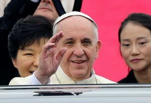 Pope Francis in South Korea