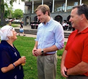 Liberal Leader Brian Gallant in Fredericton