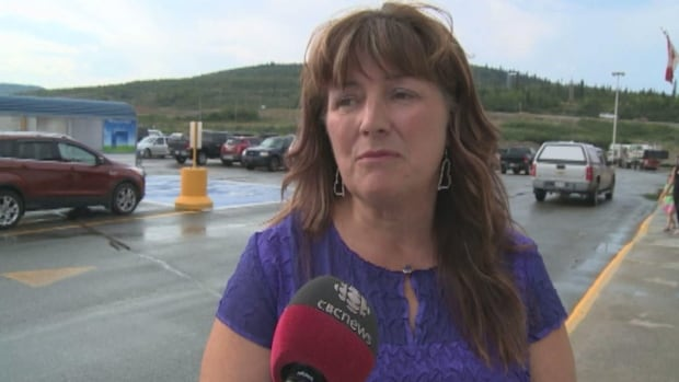 Labrador City Mayor Karen Oldford is unhappy that the city is on the receiving end of the town of Wabush's raw sewage.