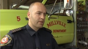 Millville Fire Chief Justin McGuigan