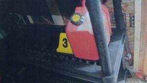 Gordon Govenlock gas can