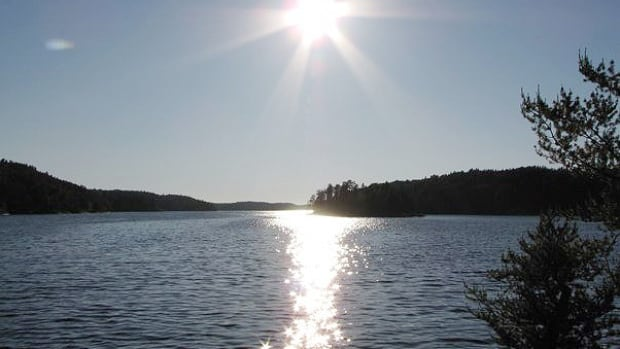 Two girls were rescued after going missing on Elbow Lake for about 15 hours.
