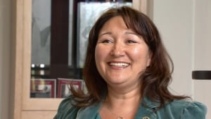 Kluane First Nations Chief Mathieya Alatini