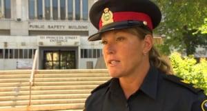 Sgt. Natalie Aitken  Winnipeg Police