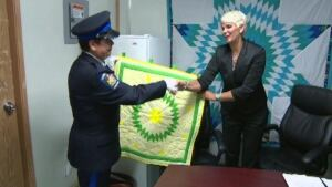 minister of Corrections Christine Tell pine grove centre opening